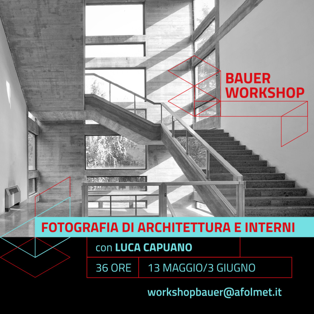 bauer workshop / maggio 2017