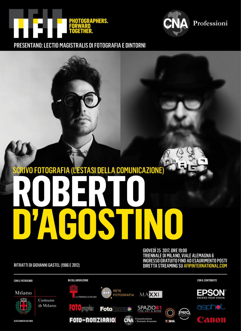 Lectio Magistralis di Fotografia e Dintorni – Roberto D'Agostino