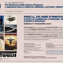 Pirelli, 145 anni d'innovazione