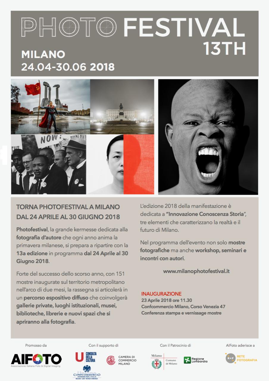 Photofestival 2018 – Innovazione, conoscenza, storia