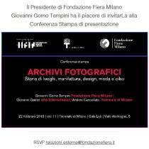 Fondazione Fiera - Archivi fotografici