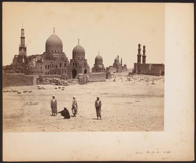 Antonio Beato. Viaggio in Egitto