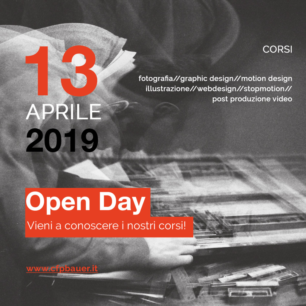 Open Day ed eventi – CFP Bauer