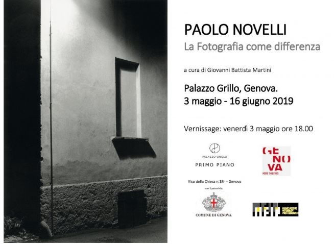 La Fotografia come differenza – Paolo Novelli  in mostra a Genova