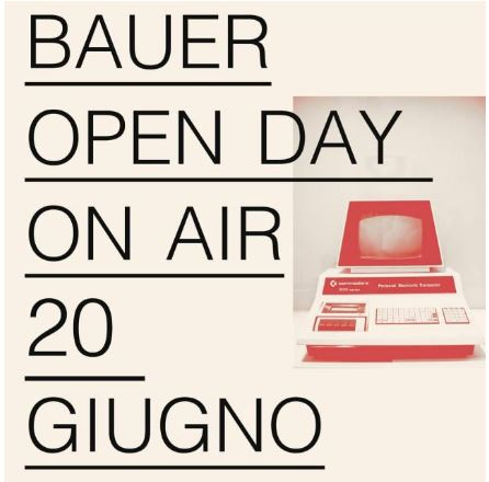 BAUER – OPEN DAY ON AIR