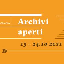TAVOLA ROTONDA DI APERTURA – SETTIMA EDIZIONE ARCHIVI APERTI